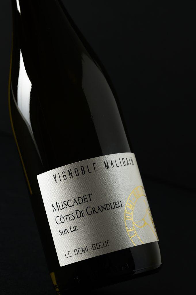Muscadet le Demi-Bœuf 100% Melon B – AOC Muscadet Côtes de Grandlieu sur lie