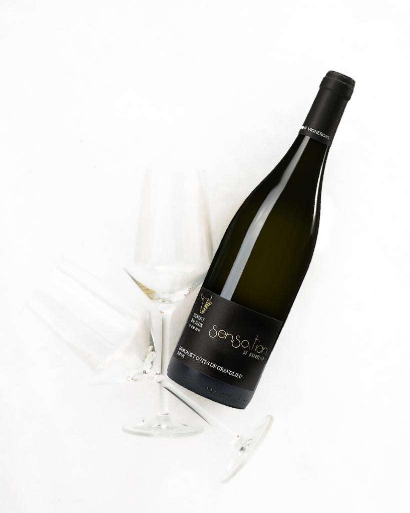100% Melon B. Sensation de Grandlieu – AOC Muscadet Côtes de Grandlieu sur lie